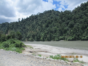 On the road to Arunachal Pradesh