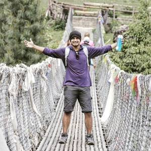 Abhiram Upadhayaya Travel Blogger