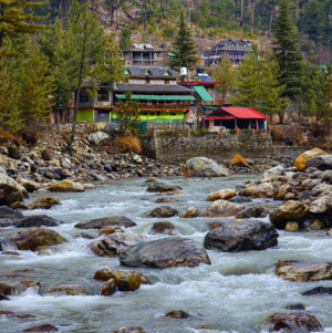 The Land of Lord Shiva - Parvati Valley and its apex village Tosh