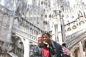 Milan, Italy with the Family