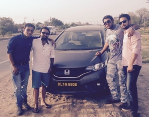 Jazz , Us and a thrilling ride to Kasauli