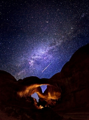A night under the stars at Wadi Rum