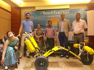 Goa's Candolim Beach Becomes The First Beach In India To Welcome Differently-Abled Visitors