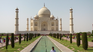 Vrindavan and Agra