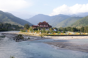 Thunder Dragon beacons – Thimphu to Punakha by road