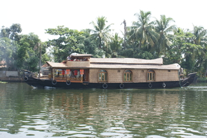 Cruising on the backwaters of Alleppey & trip to Ambalappuzha