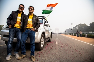The Great Indian World Trip: 2 Guys - 1 Car - 90000 Km - 50 Countries - 6 Continents - 15 Months