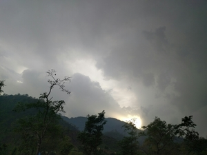 Sunny and Rainy Rishikesh