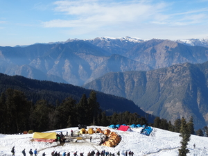 Winter trekking in India - Kedarkantha Trek- YHAI ,India
