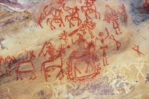Bhimbhetka: Rock shelters and cave paintings in central India