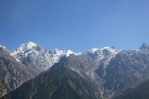 Solo exploring a bit of Kinnaur Valley at Himachal..