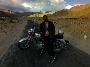 Ride the cold desert - Leh Ladakh