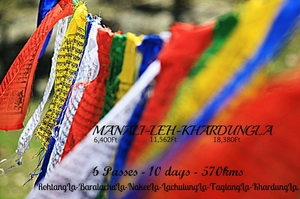 Manali - Leh on Bicycles