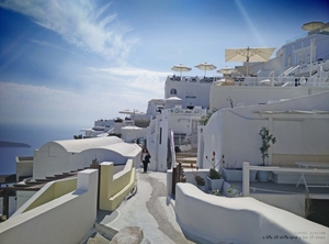 Best Way to See Santorini – Fira to Oia Hike
