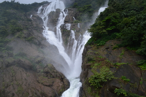 Castlerock to Dudhsagar Waterfalls