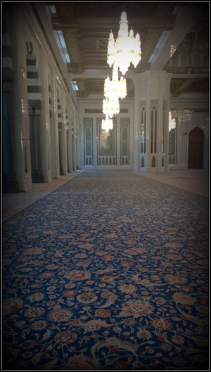 Oman Diaries: A visit to the Sultan Qaboos Grand Mosque