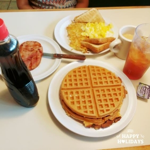 Breakfast at Waffleworks