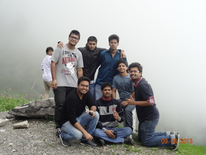 Adventurous trip to Manali