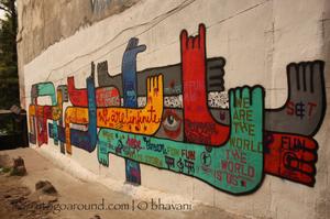 The Two Sides Of Hauz Khas, New Delhi