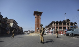 Silence on the streets of Kashmir