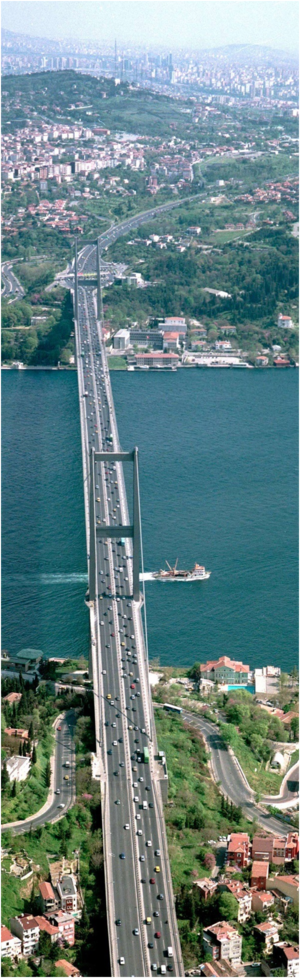 Bridging continents