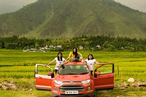 3 Women, 5000 Kms: A Drive of A Lifetime From Kanyakumari to Kashmir