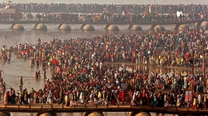 15 Striking Images Of The Kumbh Mela At Nasik