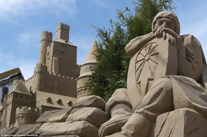 World's first sandcastle hotel is now OPEN
