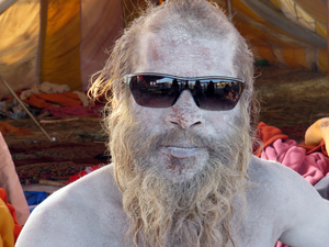 The Naga sadhu who asked for my gold ring at the Kumbh Mela