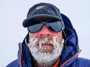 This 55-Year-Old Man Is Breaking All Records By Walking Across Antarctica All By Himself