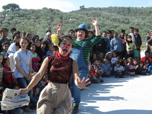 This Video Of Clowns Cheering Up Syrian Refugees Is The Most Heartwarming Thing You Will See Today