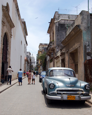 Around the streets of Habana Vieja, Cuba