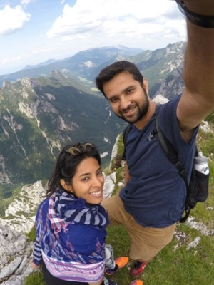 This Couple Quit Their Corporate Jobs To Build A Startup While Travelling The World