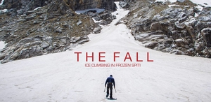 As If Climbing A Mountain Wasn't Difficult Enough, These Travellers Will Scale A FROZEN Waterfall.