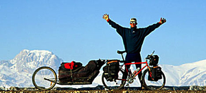 This Guy Rode All The Way From Sweden to Nepal With a Quick Stop at Mount Everest!