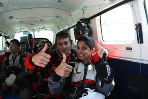 6 reasons why should we jump off a plane at least once in our lifetime! The sky through my eyes!