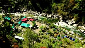 Riverside Camping at Tirthan Valley- Tirthan Himalayan Adventures