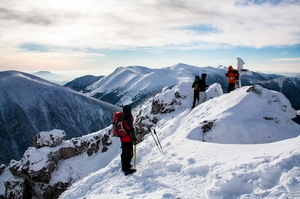 Strenuous winter hike in Mala Fatra National park