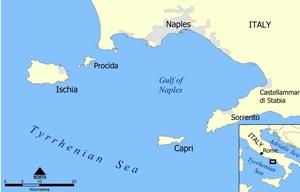 Capri Island-The Bewildering Blue Grotto