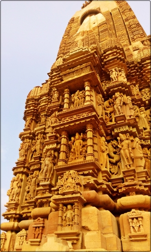 Khajuraho, the unflawed aphrodisiac.