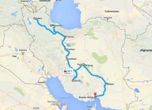 30 days in Iran