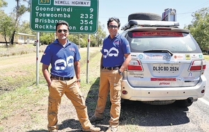 An epic journey of two Indian men who travelled across 50 countries in 6 continents!