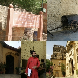 Neemrana Fort Palace - Royalty & Flamboyance