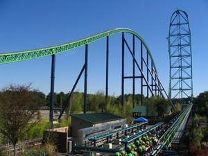 The very mention of the world's 12 highest roller coasters will make you feel weird in your stomach!