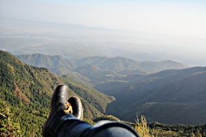 George Everest peak - You have to look down to see heaven