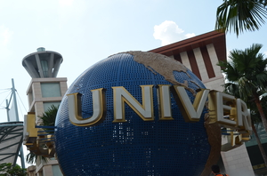 Universal Studios, Singapore:  My Fairy Tale dream came alive.