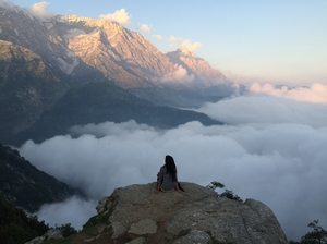 Redefining tranquility - Tales of Triund with essence of Mcleod!!!