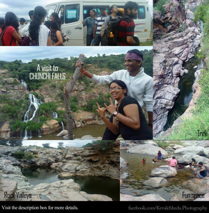 Into the terrains of Chunchi Waterfalls