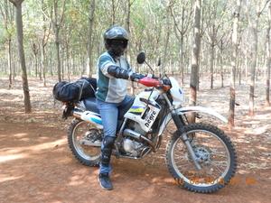 Cambodia dirt biking