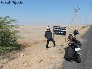 The Vighakote-Bediyabet odyssey: Motorcycling to India's last Bastion on the Indo-Pak border,Gujarat